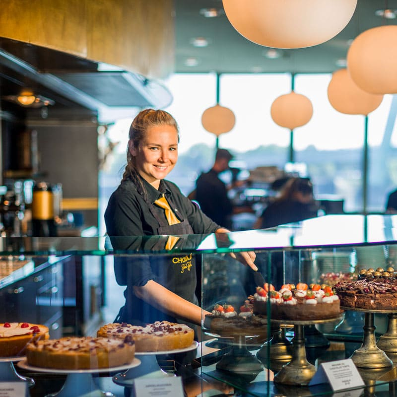 Das Café im Schokoladenmuseum Köln