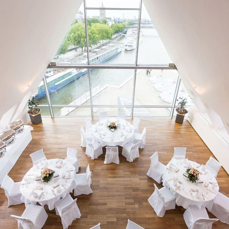 Hochzeit im Schokladenmuseum Köln