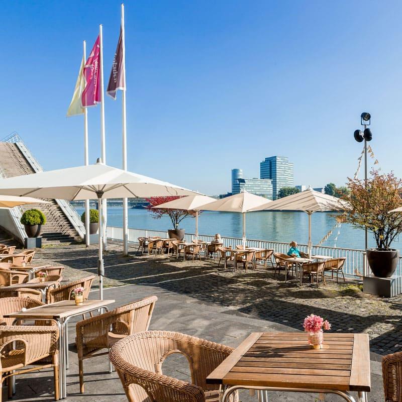 Café am Rhein - Schokoladenmuseum Köln