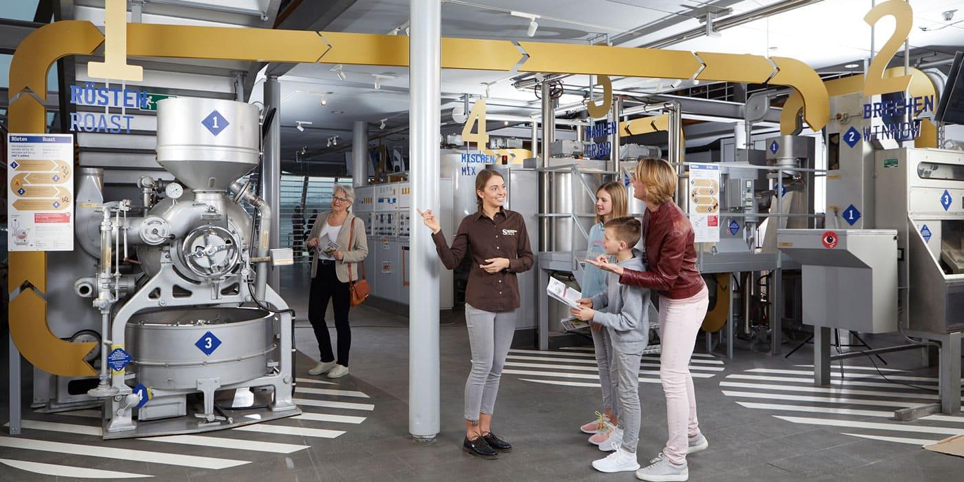 Schokoladenfabrik im Schokoladenmuseum in Köln