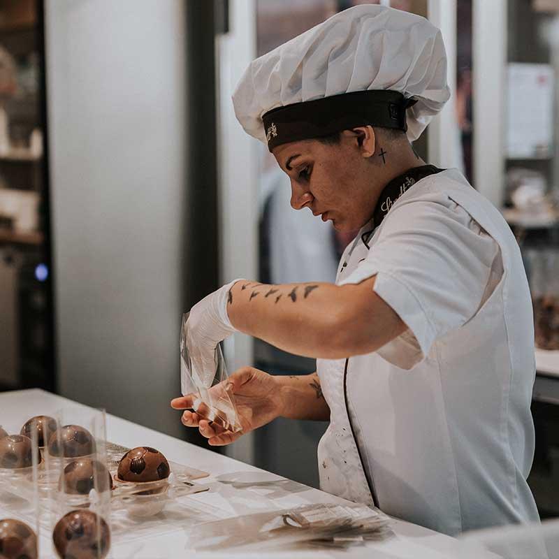 Die Schokoladenmanufaktur des Kölner Schokoladenmuseums