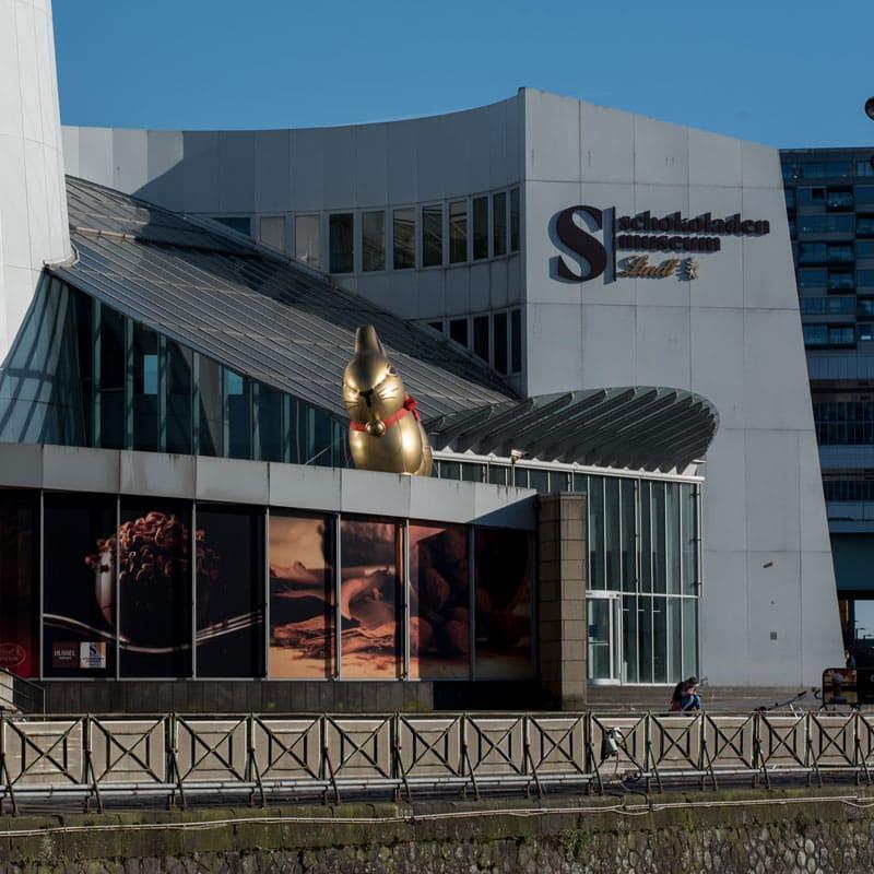 Ticketshop im Schokoladenmuseum in Köln